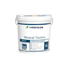 Фасадная краска Finncolor Mineral Techno База А, 18 л