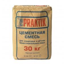 Кладочная цементная смесь Bergauf Praktik M100 30 кг