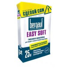 Шпаклёвка гипсовая Bergauf Easy Soft 25 кг