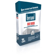 Штукатурка Bergauf Bau Block 25 кг