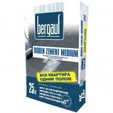 Ровнитель для пола Bergauf Boden Zement Medium 25 кг