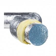 Гибкий воздуховод теплоизолированный PR, d=315мм, (упаковка 10м)